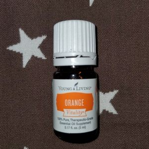 Young Living Essential Oil Orange Vitality 5ml NEW